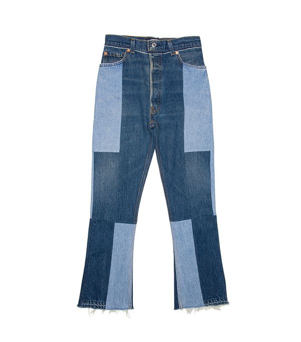 RE/DONE | Levi's High Rise Seam Jeans