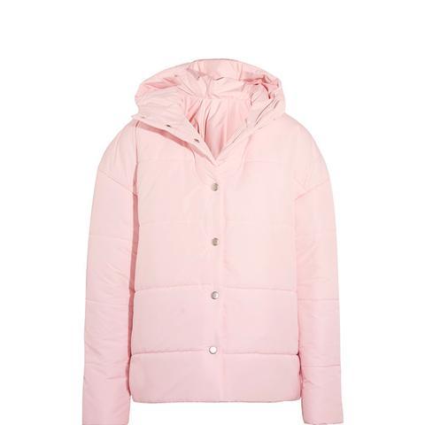 Bubblegum Princess Oversize Quilted Shell Jacket