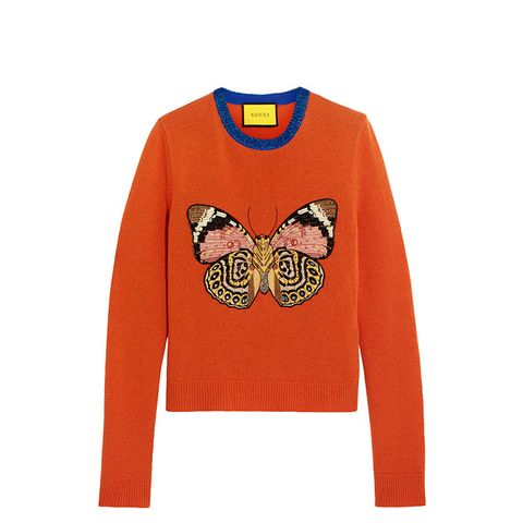Embellished Wool Sweater