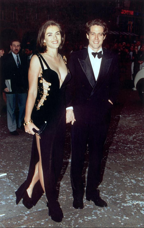 Liz Hurley and Hugh Grant