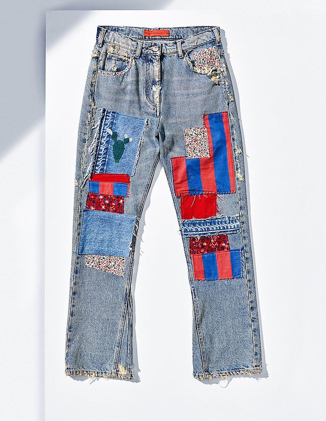 Tommy Hilfiger Flared Patch Jeans