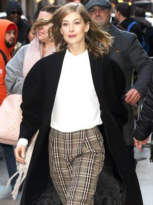 The Workwear Staple Rosamund Pike and Victoria Beckham Both Love