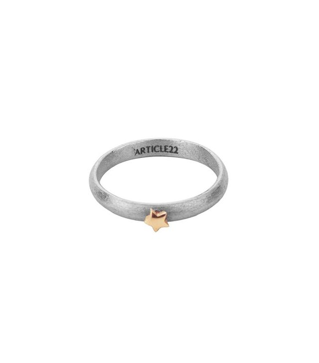Article 22 Cosmos Ring Rose Gold