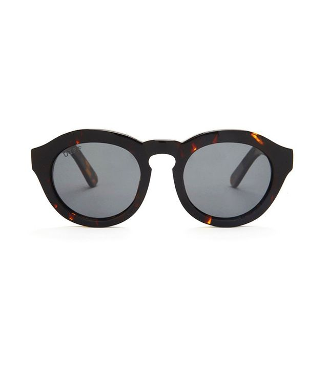 DIFF Dime in Tortoise Frame with Grey Lens
