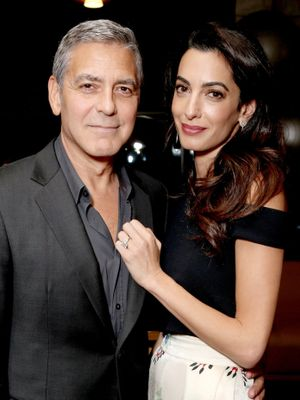 It's Official: The Clooneys Are Expecting Twins