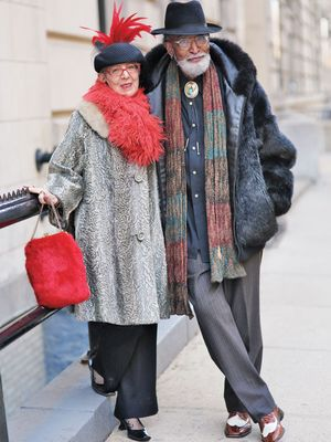These Chic Older Couples Will Absolutely Melt Your Heart