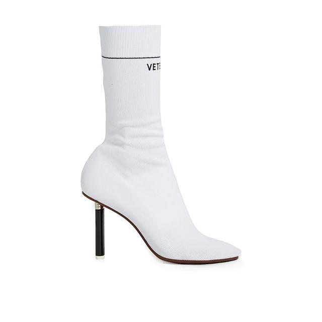 Vetements Lighter Heel Sock Ankle Boots