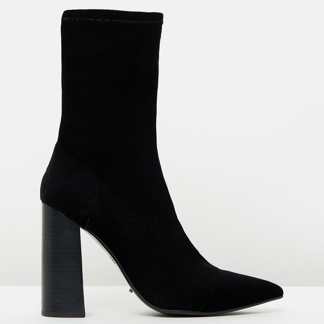 Tony Bianco Diddy Velvet Boots