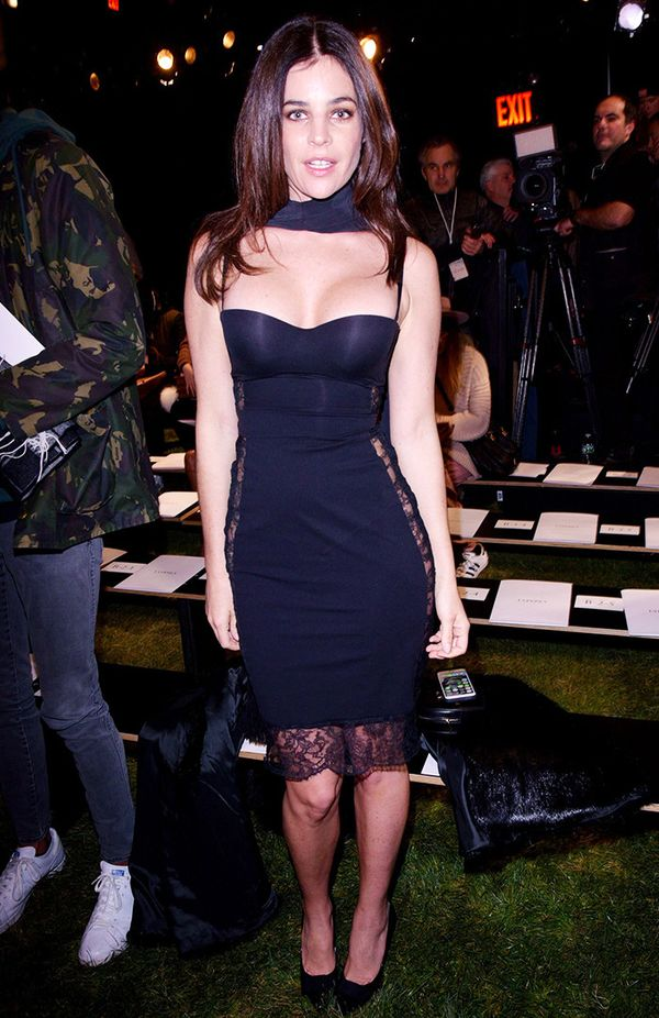 New York Fashion Week February 2017 Front Row: Julia Restoin-Roitfeld