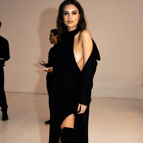 New York Fashion Week February 2017 Front Row: Emily Ratajkowski