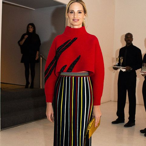 New York Fashion Week February 2017 Front Row: Lauren Santo Domingo