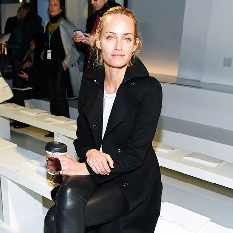 New York Fashion Week February 2017 Front Row: Amber Valletta