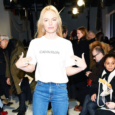 New York Fashion Week February 2017 Front Row: Kate Bosworth at Calvin Klein