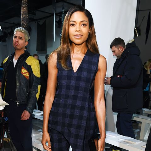 New York Fashion Week February 2017 Front Row: Naomie Harris