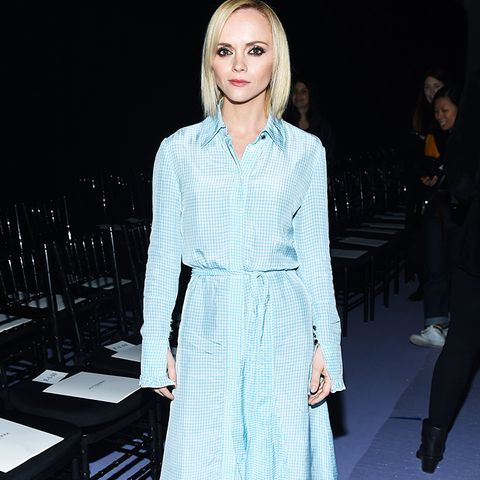 New York Fashion Week February 2017 Front Row: Christina Ricci