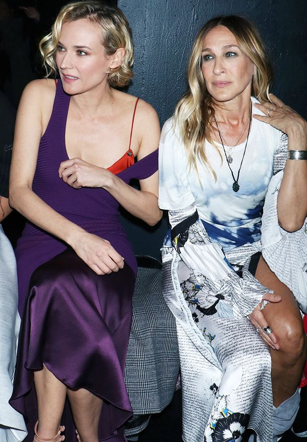 New York Fashion Week February 2017 Front Row: Diane Kruger and Sarah Jessica Parker
