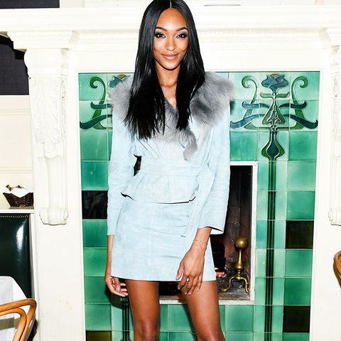 New York Fashion Week February 2017 Front Row: Jourdan Dunn