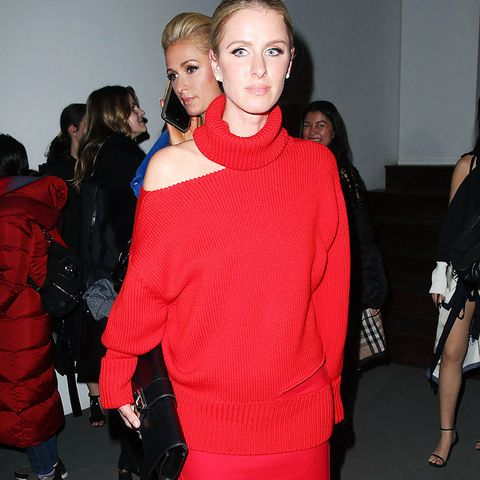 New York Fashion Week February 2017 Front Row:  Nicky Hilton