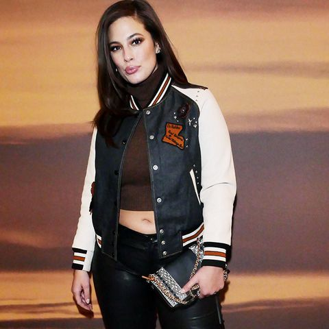 New York Fashion Week February 2017 Front Row: Ashley Graham