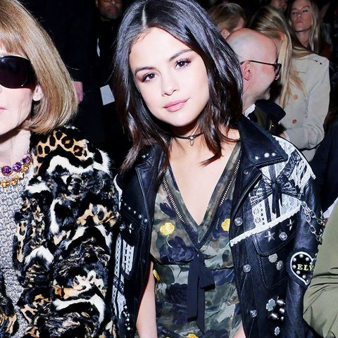 New York Fashion Week February 2017 Front Row: Selena Gomez