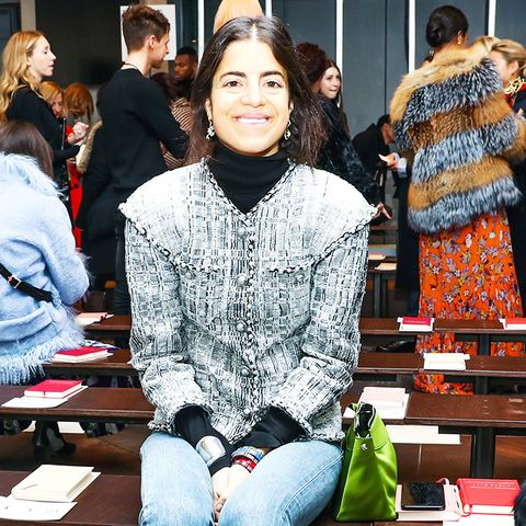 New York Fashion Week February 2017 Front Row:  Leandra Medine of Man Repeller