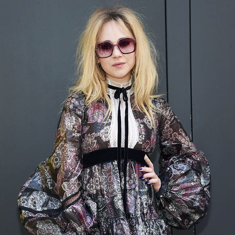 New York Fashion Week February 2017 Front Row: Juno Temple at Marc Jacobs