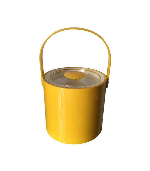 Georges Briard Yellow Champagne Bucket