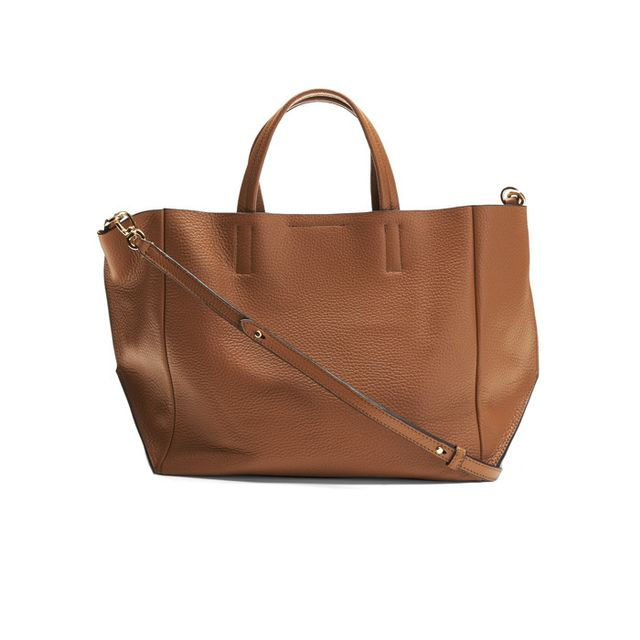 Banana Republic Portfolio Italian Leather Slouch Tote