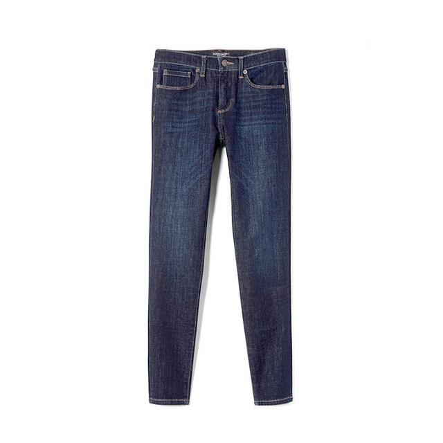 Banana Republic Zero Gravity Medium Wash Skinny Ankle Jean