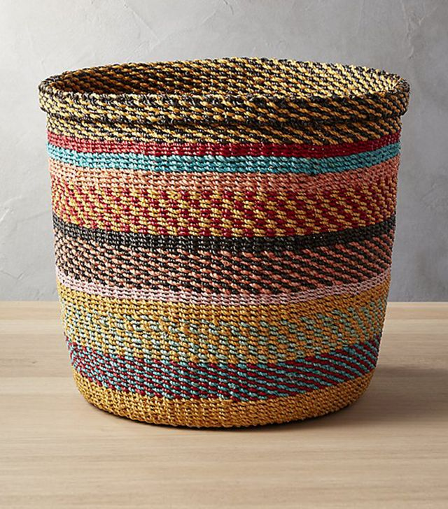 CB2 Joya Multi-Color Basket