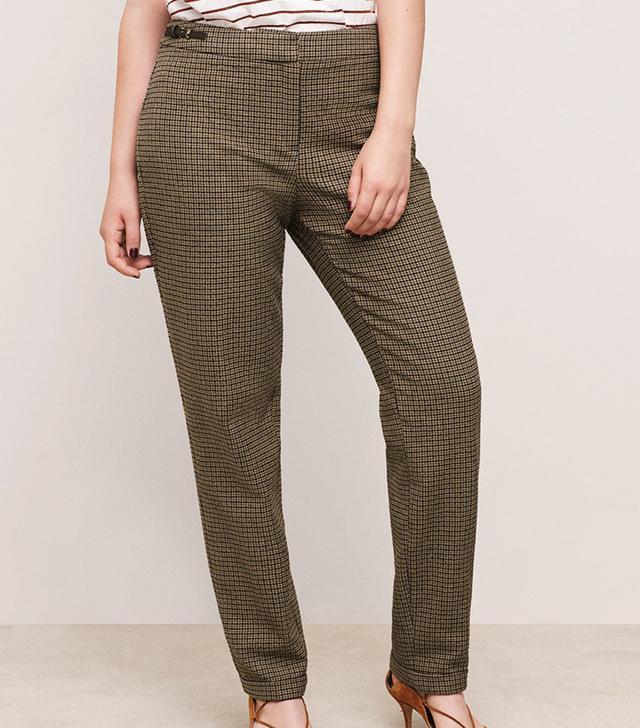Violeta Cotton Suit Trousers