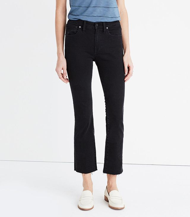 Madewell Cali Demi-Boot Jeans in Cane Wash