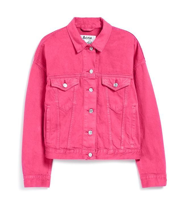 Acne Studios Lab Denim Jacket
