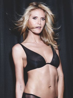 Heidi Klum's Ultimate Guide to Buying V-Day Lingerie