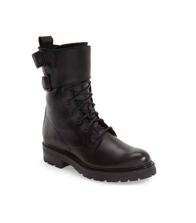 Frye Julie Shield Combat Boot