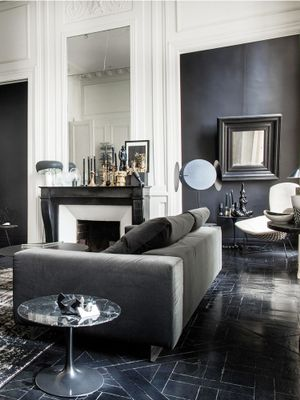 Inside a Fashion Designer's Achingly Cool Parisian Pad