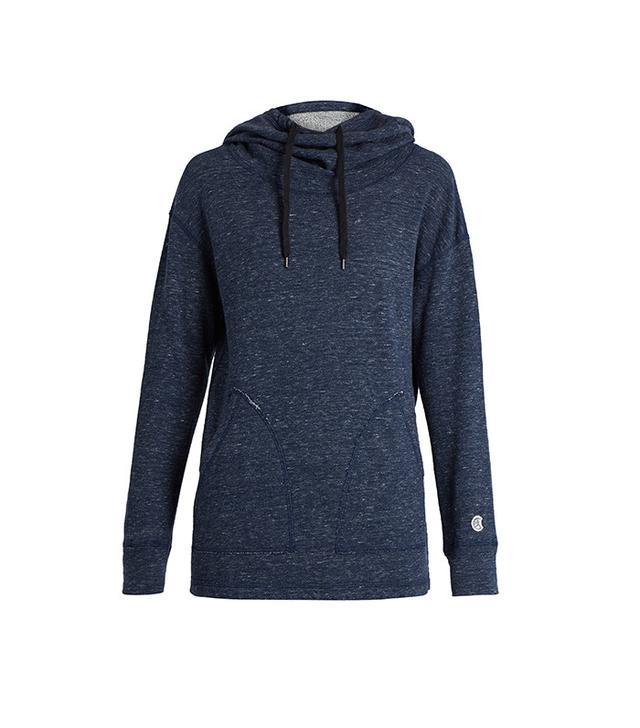 Todd Snyder + Champion Funnel-Neck Hooded Cotton Sweatshirt