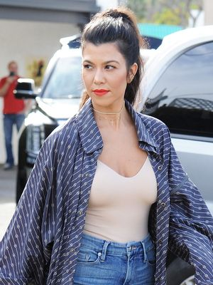 We Are Totally Stealing Kourtney Kardashian's Outfit for Valentine's Day