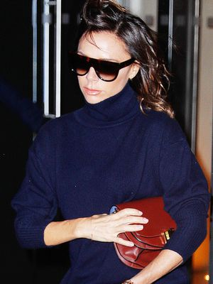 Victoria Beckham Wore 2 Chill Outfits to Her Runway Show