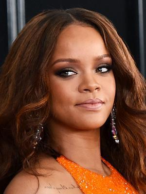Rihanna Wore a Fashion-Girl Sports Bra to the Grammys