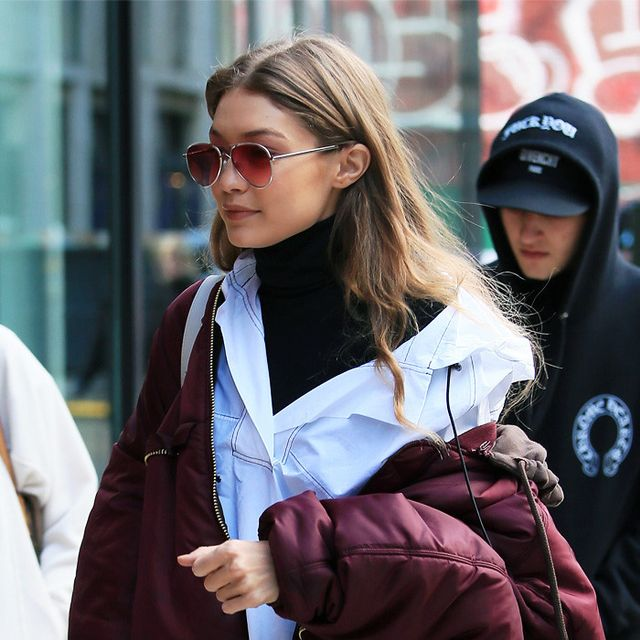 Gigi Hadid's Wearing the Boots You Threw Away Years Ago