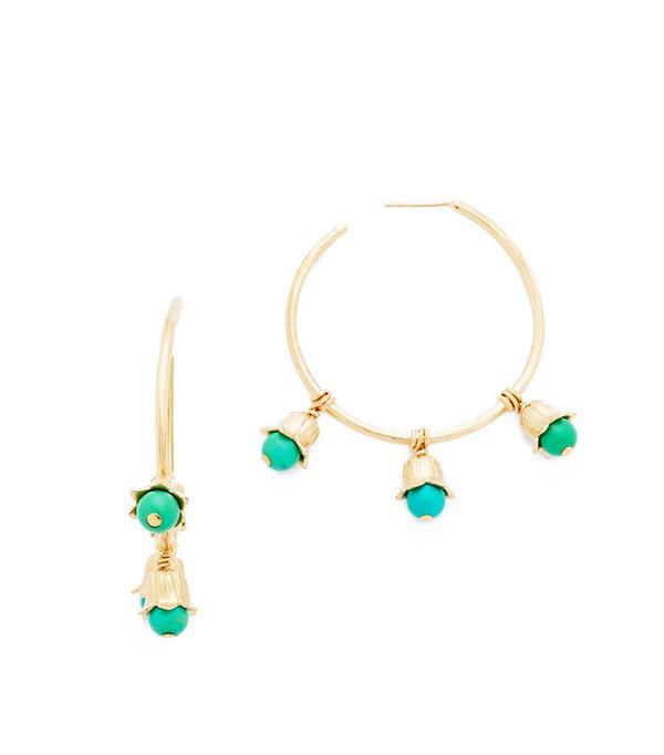 Gold Hoop Earrings Trend