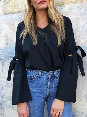 This Is the #1 Top to Wear With Jeans