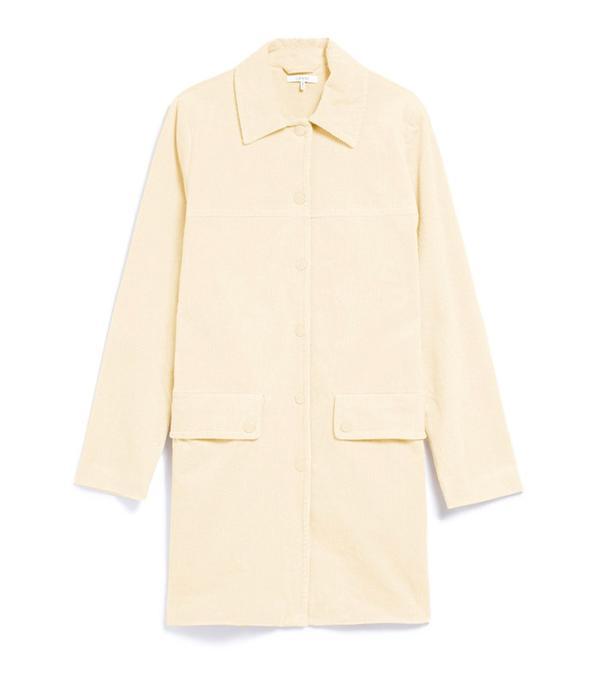 Ganni Belmont Corduroy Coat