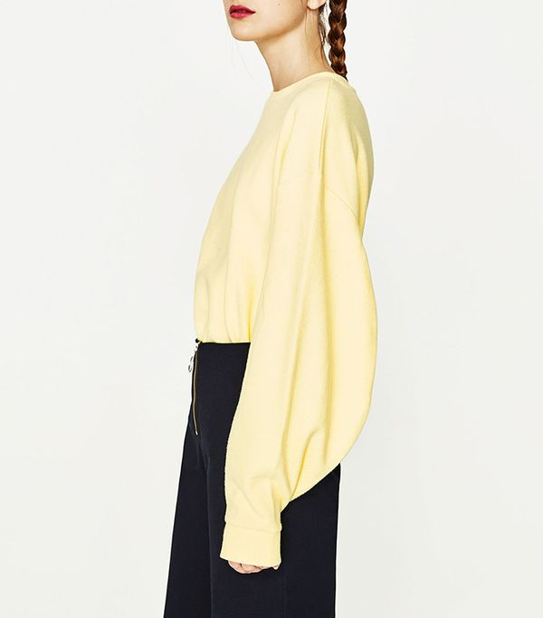 Zara Full Sleeve Sweatshirt