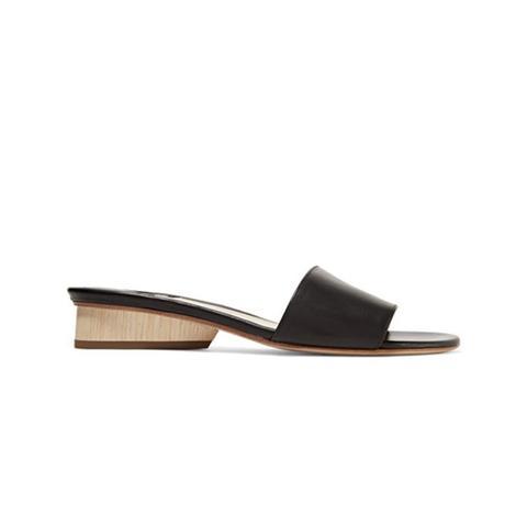 Lina Leather Slides