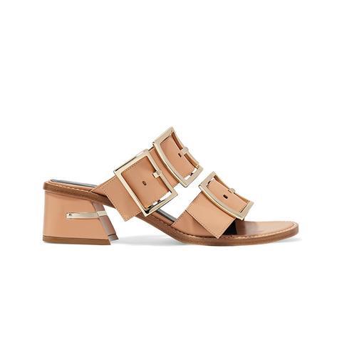 Kari Leather Mules
