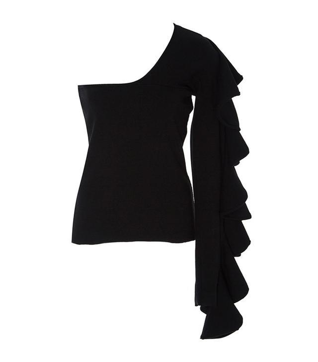 Beaufille Electra Ruffled Single Sleeve Top
