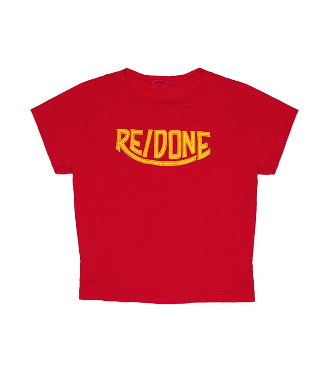 RE/DONE 1970s Logo Tee