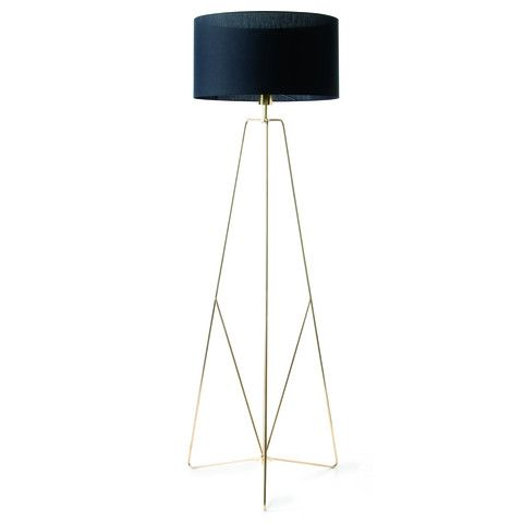 Kmart Floor Lamp - Brass Look